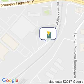 Украинская Ассоциация Мебельщиков на карте