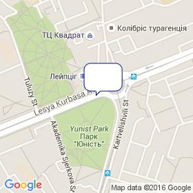 Украина-Будсервис на карте