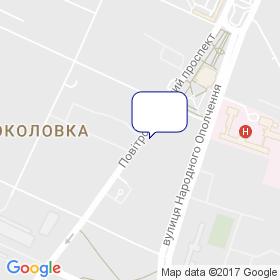 Украинский научно-исследовательский институт стекла на карте