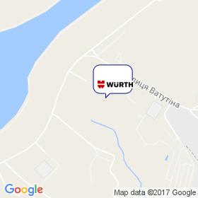 ВЮРТ-УКРАИНА на карте