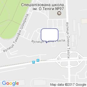 Украинский инженерно-технический центр на карте