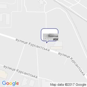 Днепропетровский завод ЖБК на карте