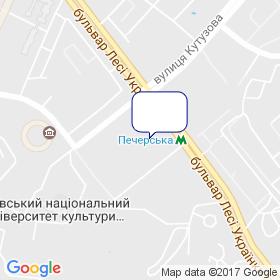 КИЕВЗНИИЭП на карте