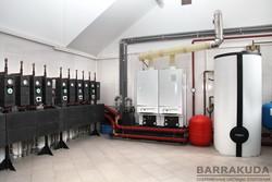 Монтаж систем отопления в домах дворцового типа