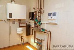Монтаж современных систем отопления на газовых, электрических, твердотопливных котлах