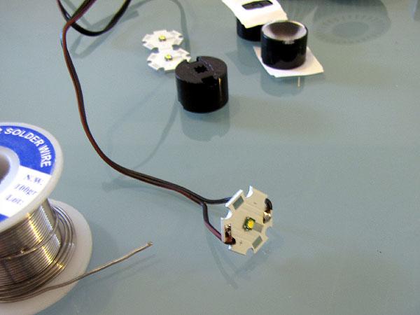 Как сделать линзу для светодиода своими руками