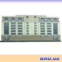 Реконструкция с расширением административно-офисного дома.