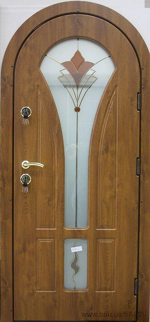Входные двери арочные