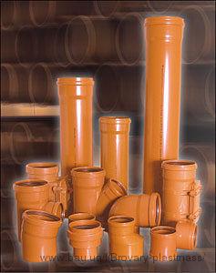Трубы ПВХ для канализационных безнапорных систем