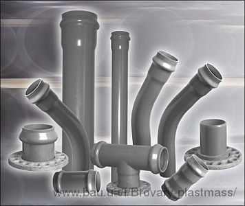 Трубы ПВХ для водопроводных и канализационных напорных систем