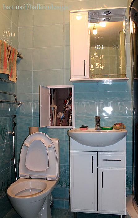 Дизайн ванной в гостинке 18 квм