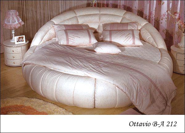 Купить круглую кровать Marco Rossi