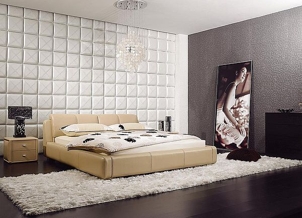 Купить кожаную кровать Marco Rossi