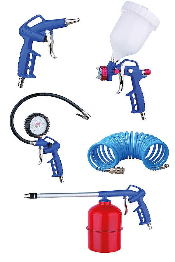 Пневматические инструменты, краскопульты, пульверизаторы, шланги пневматические