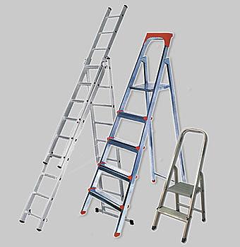 Лестницы стремянки, трансформеры, трёхсекционные.