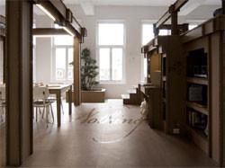 В Голландии построили офис из картона