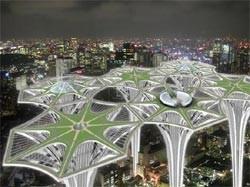 Архитектор из Сан-Франциско Джоанна Борек представила проект небоскребов будущего