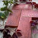 Тротуарная плитка имитация дерева.Садовый паркет.