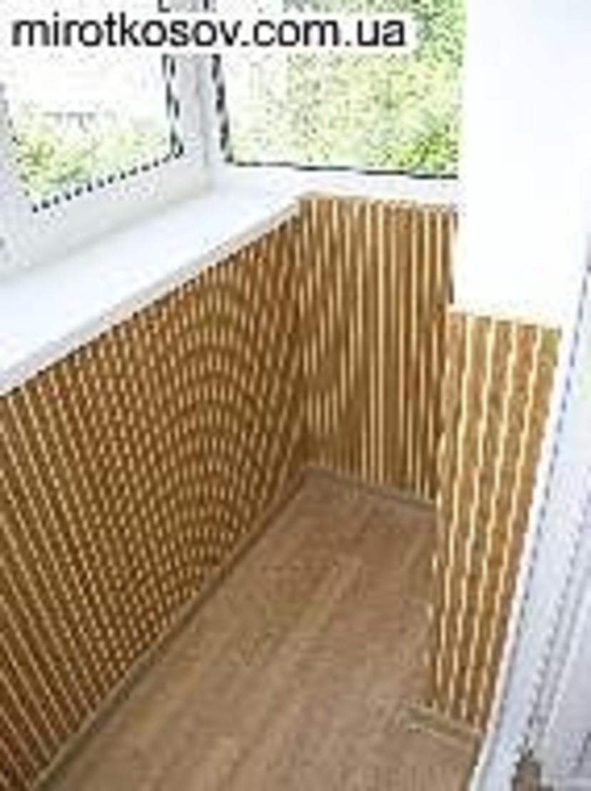 Отделка балконов - объекты компании грищенко фото 6385.
