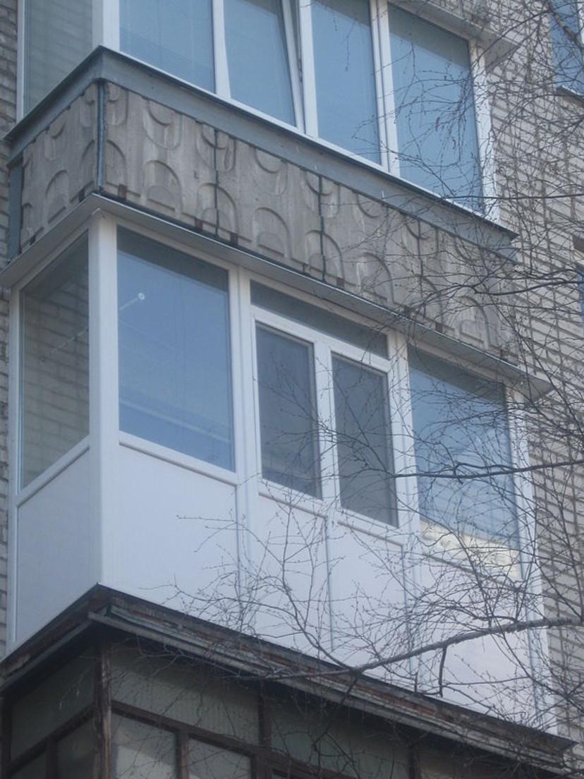 Балконы под ключ - объекты компании модерн-2006 фото 6724.