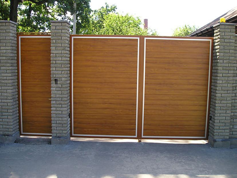 Автоматические распашные ворота въездн цена монтажа автоматических ворот