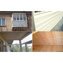 Ремонт балкона в Сталинке