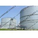Резервуары стальные вертикальные, силос для сыпучих, резервуары для нефтепродуктов
