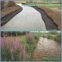 Возможности ручных земснарядов Piranha Pumps - укрепление берега