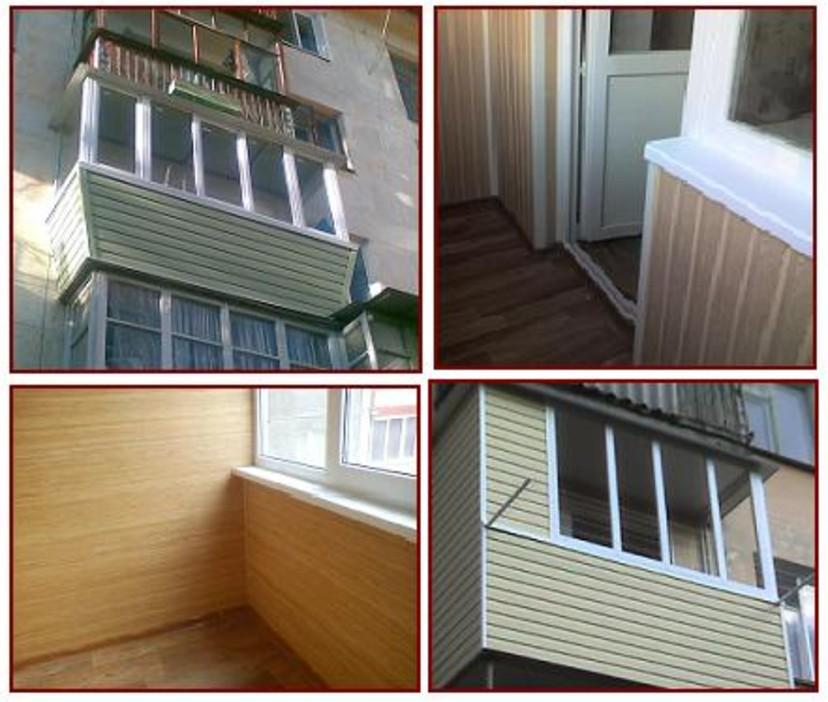 Балконы под ключ - объекты компании волшебные окна фото 2673.