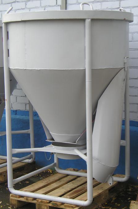 Бункер раствороприемный Рюмка (0,5-2,0 куб.м.)